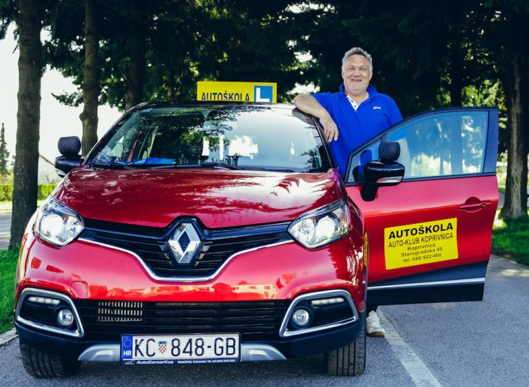 Auto klub Koprivnica instruktor